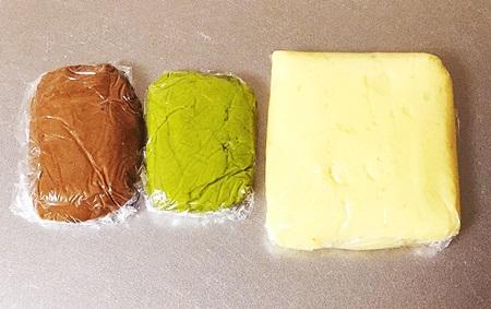 手作りクッキー生地