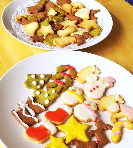 クッキーとアイシングクッキー