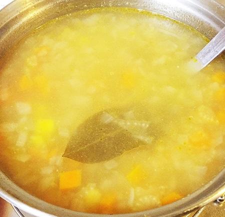 常備菜 コンソメスープ