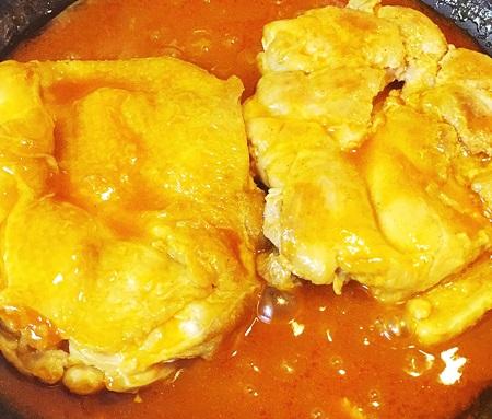 鶏肉ケチャップ煮 作り方
