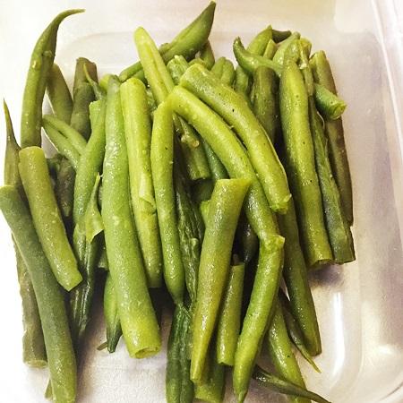 常備菜 いんげん豆のソテー