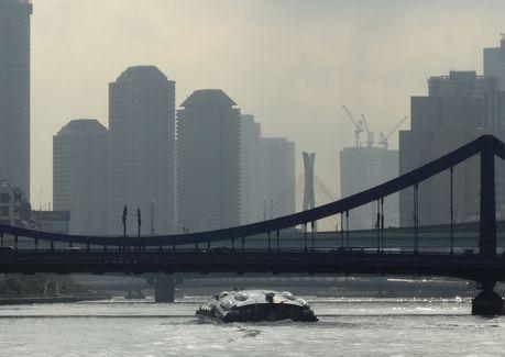 清洲橋とヒミコ
