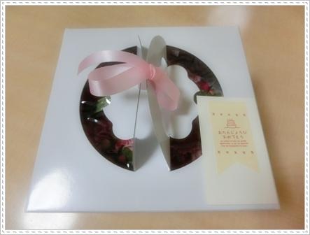 お花ケーキ1