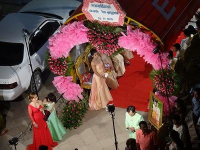 カンボジアの結婚式