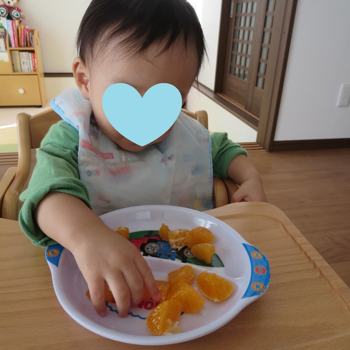 みかん食べます
