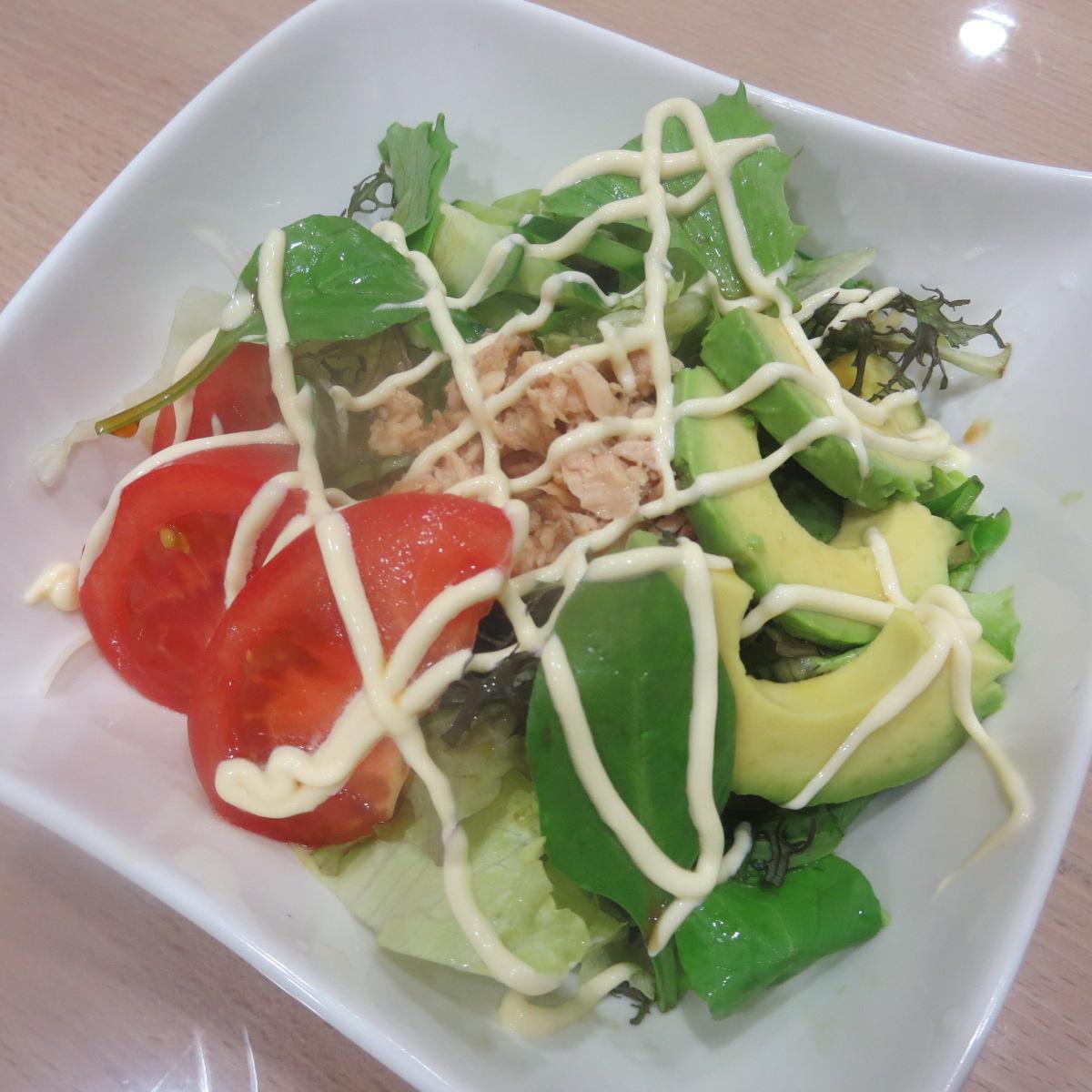 サラダうどん1