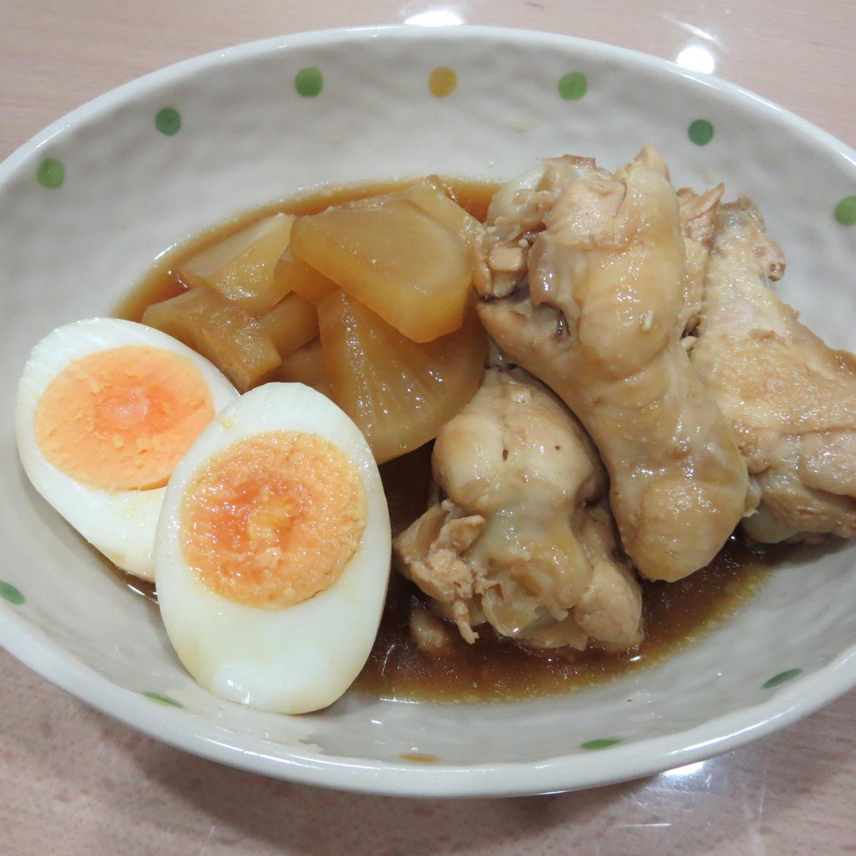 大根と鶏肉