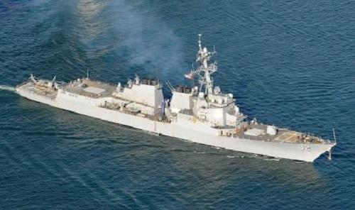 米海軍のイージス駆逐艦「ラッセン」