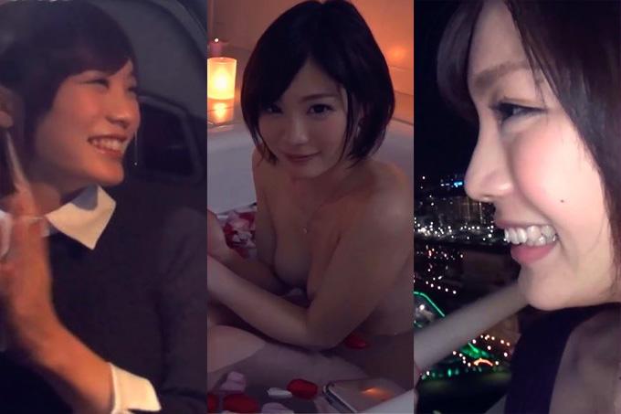 喜ぶ鈴村あいりが可愛い。