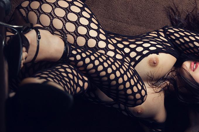 アダルト画像3次元 - ビリビリに破いてみたい☆体全部網タイツエロ画像