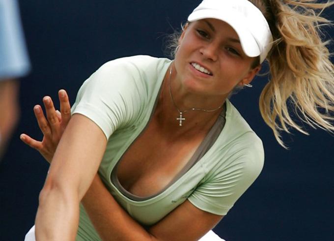【スポーツエロ画像】巨乳おっぱいのテニスプレイヤーまとめ