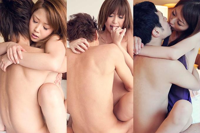 【密着sex】抱き合いながら、キスしながら、愛を感じる対面座位のセックス画像