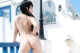 おまんコスプレイヤー、ついに裸で撮影する!もうコスプレでもなんでもない・・・