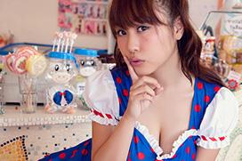 美麗グラビア × 西田麻衣 キュートなメイド