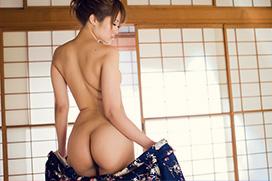 美麗グラビア × 立花さや 浴衣、はらり。