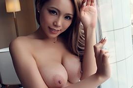 藤本紫媛 Fカップおっぱいギャルの濃厚セックス