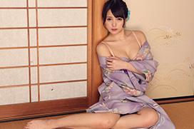 みほの 薄紫の妖艶浴衣でしっとりセックス