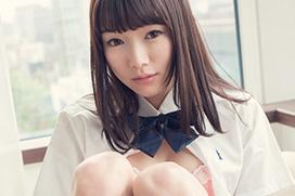 涼川絢音 制服で何度もベロチュー&マジイキ…セックス画像