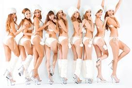 サイバージャパンダンサーズとかいうビキニギャル集団が完全に露出狂・・・誰かKiraKiraでAV出たことあるだろ・・・
