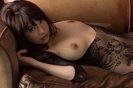 葵(あおい) 全身網タイツの神乳美女。画像×17