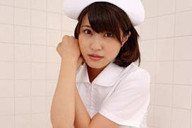 超名作グラビア劇場 岸明日香(23) 純白ナースに隠したピンクの過激水着。画像×50