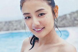 始球式で胸チラしてた片山萌美(25)の新乳グラビア