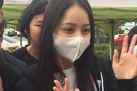 【天使】佐々木希さんがスッピンで炊き出し参加した結果wwwwwww(画像)