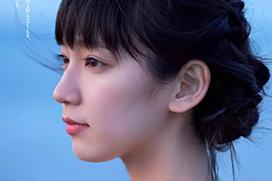 吉岡里帆(23) 朝ドラ女優と海辺の休暇。画像×47