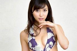 吉木りさ(28)×紫の変態水着。画像×5