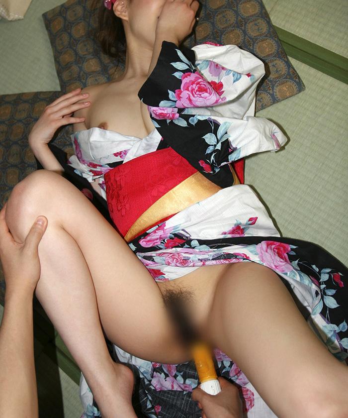 浴衣 セックス画像 46