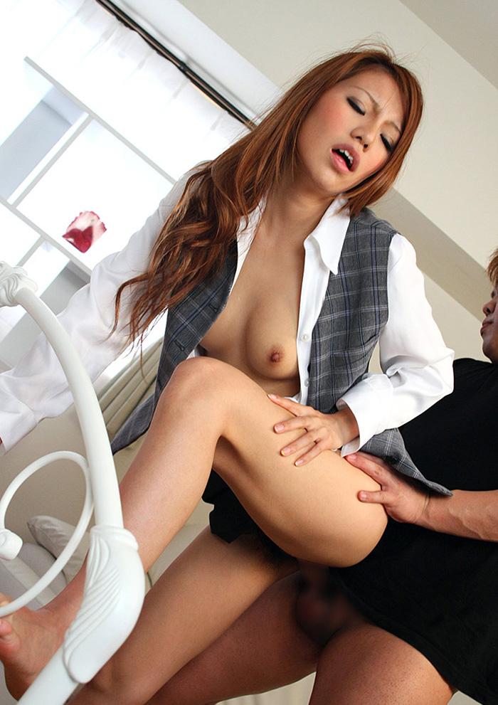 OL スーツ セックス画像 58