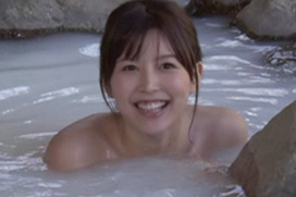 キス我慢THE MOVIEでAV女優・葵つかさの全裸入浴