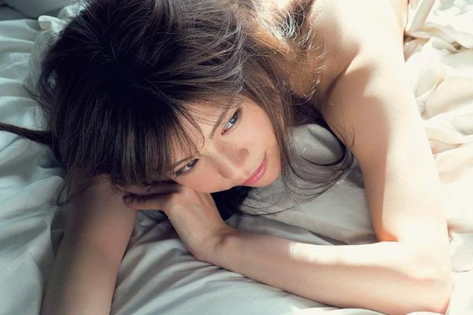 松川佑依子 引退グラビア。