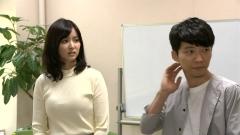 石橋杏奈ニット横乳画像2