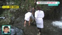 内田嶺衣奈アナ滝行パン線透け画像4
