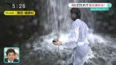 内田嶺衣奈アナ滝行パン線透け画像7