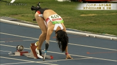 辻沙絵パラリンピック谷間画像3