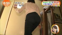 高見侑里アナ階段尻画像4