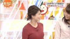 永島優美アナのニット乳画像3