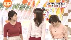 永島優美アナのニット乳画像4