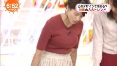 永島優美アナのニット乳画像5