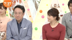 永島優美アナのニット乳画像6