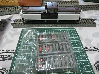 箱から出した「鹿島鉄道DD13」