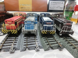 トラムウェイ「臨海鉄道シリーズ」他 4種並び