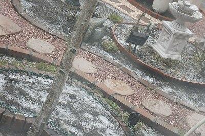 初雪の朝2015