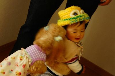つなちゃん作帽子3