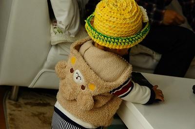 つなちゃん作帽子4
