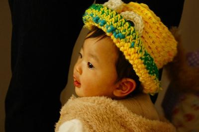 つなちゃん作帽子