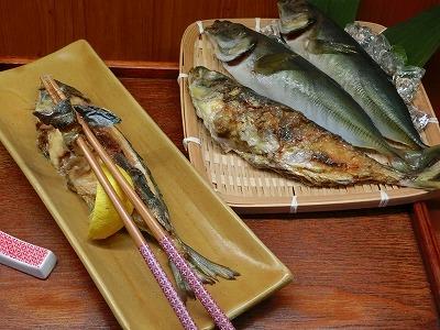 お魚の塩焼き