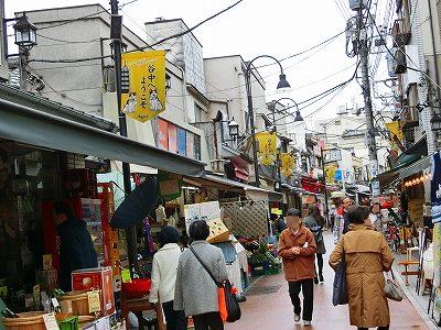 谷中昭和ちっく商店街